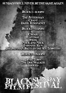 Short Horror Films at The inaugural Black Sunday Film Festival
