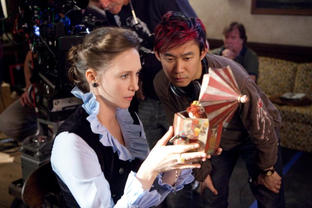 On the set of The Conjuring