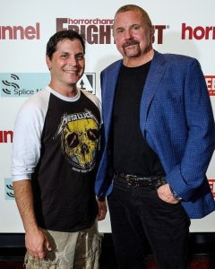 Adam Green with Kane Hodder