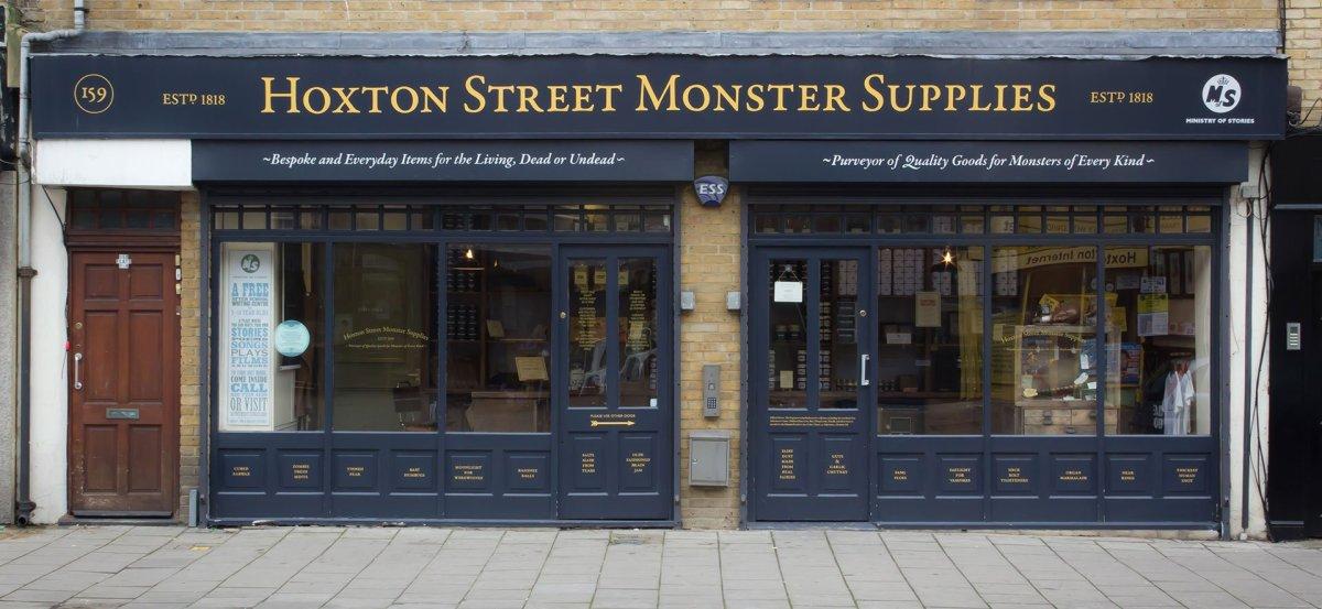 Monster Supplies, você precisa conhecer este local em Londres