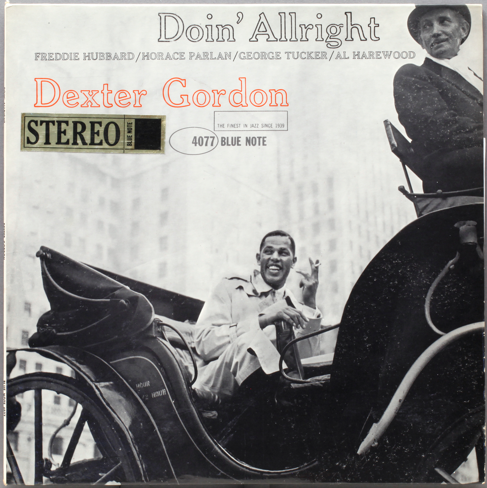 Dexter Gordon Doin Allright 1961 Blue Note