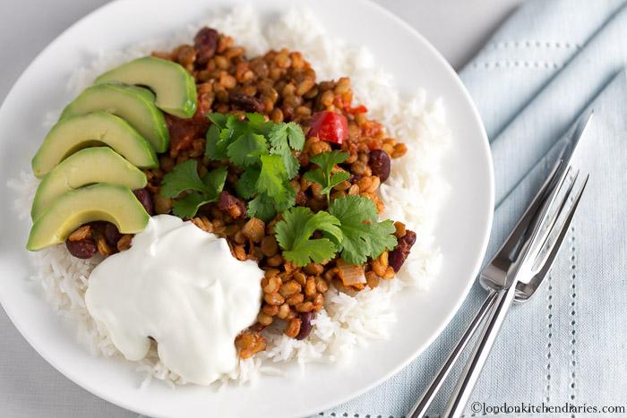 Ultimate Vegetarian Chili recipe vegan