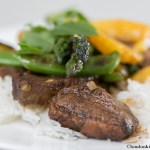 Chinese spiced Duck with fresh Orange and Greens