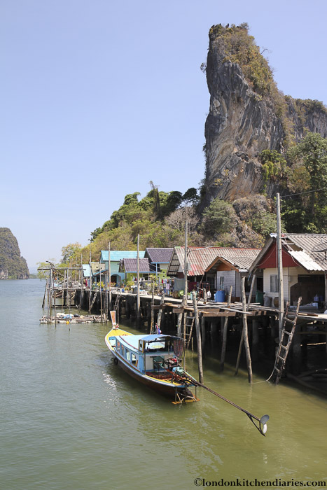 Muslim fishing village of Kho Panyi Thailand