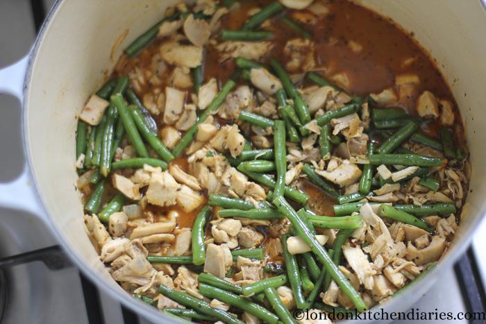 Leftover Roast Chicken in juicy paprika sauce-14