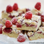 Raspberry & White Chocolate Shortbread