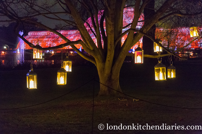 Kew Gardens, London, Christmas, Lanterns