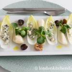 Chicory, Pear & Blue Cheese Starter