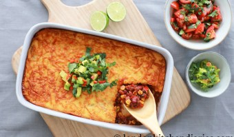 Tamale pie for an easy midweek dinner