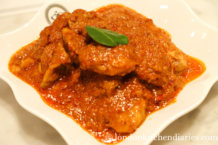 Chicken Lemak at National Kitchen by Violet Oon Singapore