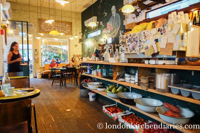 Trendy Bucke Cafe Ahad Ha'am בוקה Tel Aviv Israel
