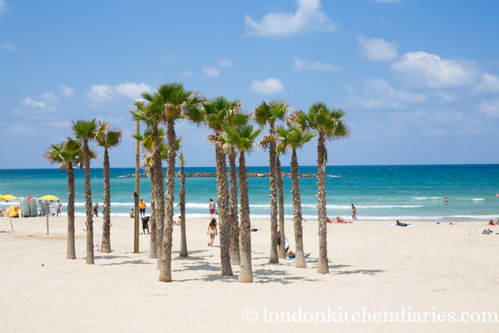 beachfront in Tel Aviv Israel