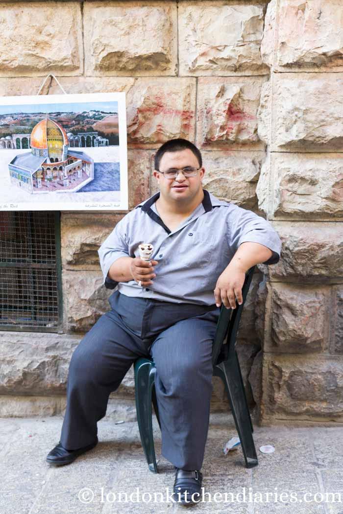 Humans of New York celebrity in Jerusalem