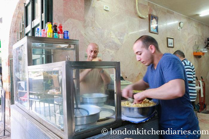 Best falafel in Jerusalem from Hibni family