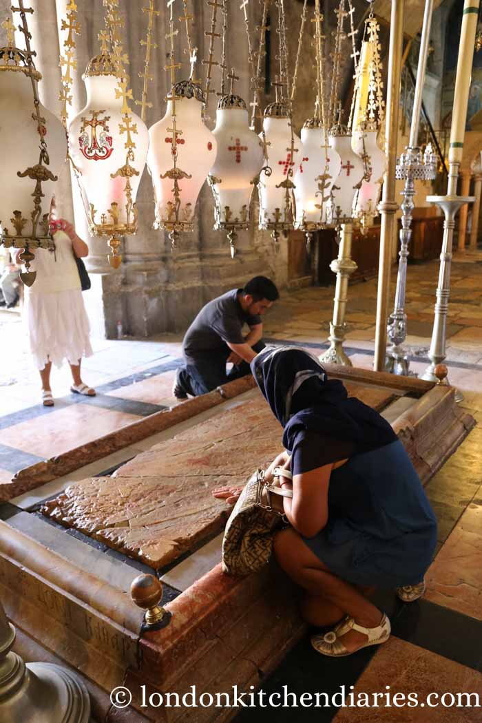 Church of the Holy Sepulchre Jerusalem Israel Stone of Unction