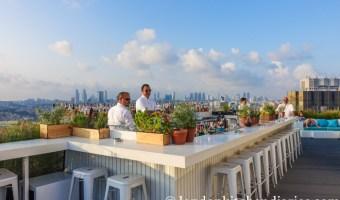 Rooftop dinner at Mikla Restaurant & Bar, Istanbul