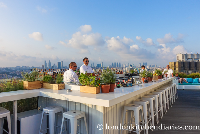 Rooftop Dinner at Mikla Bar and Restaurant Istanbul