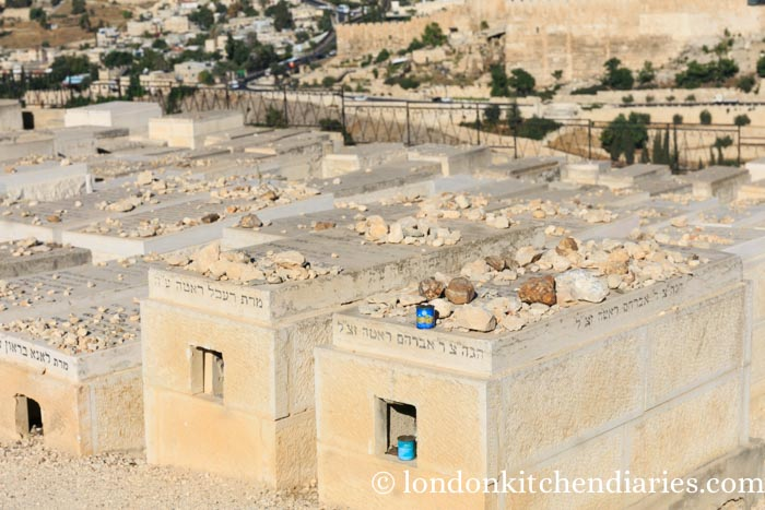 Jewish cemetery at the Mount of Olives Jerusalem