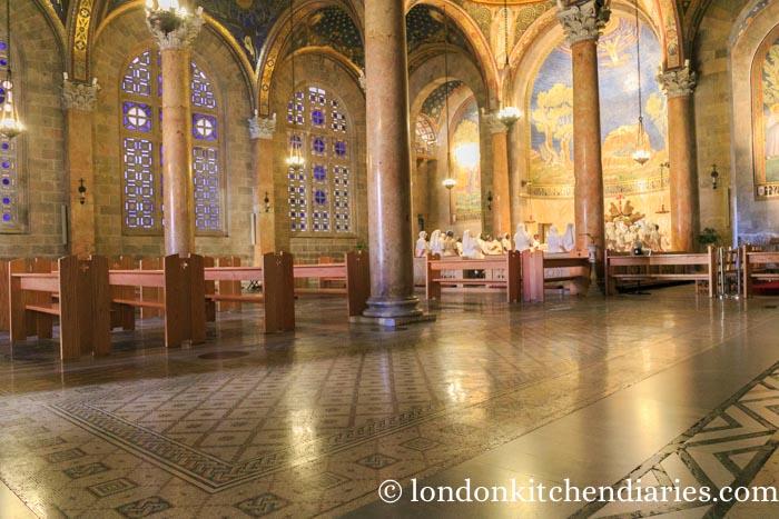 Inside the Basilica of the Agony Jerusalem