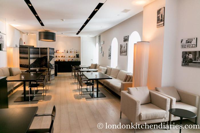 Business lounge at Mamilla Hotel Jerusalem