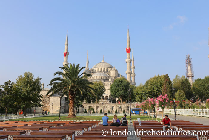Blue Mosque Istanbul Sultanahmet district