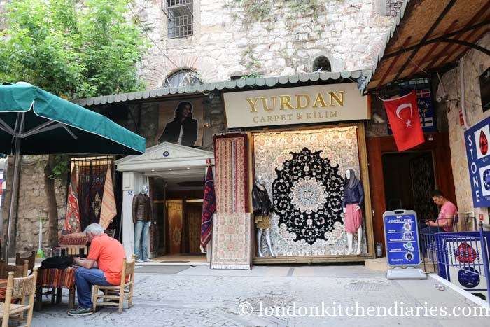 Yardan Carpet Shop at Sultanahmet districted