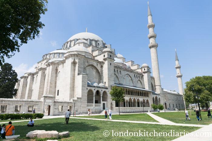 Süleymaniye Mosque Istanbul Turkey