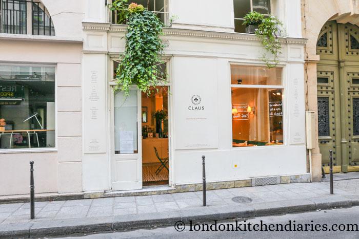 Claus breakfast restaurant review Paris