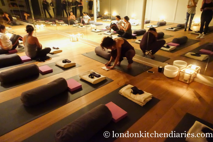 Yoga class at Bhuti in Richmond London