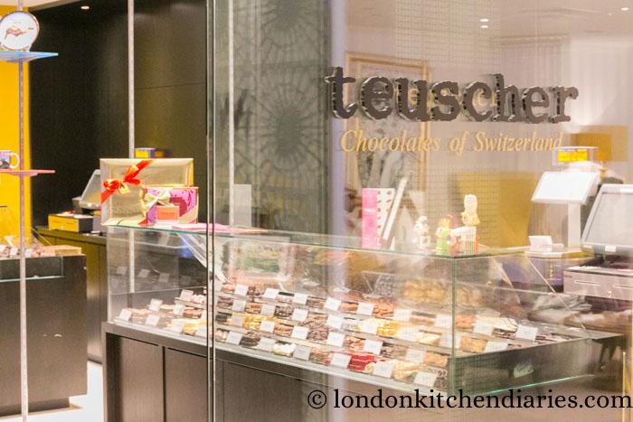 W Doha Hotel & Residences Qatar Teuscher Chocolates