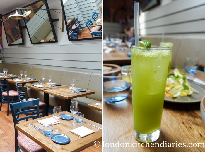 Verde Punch at LIMA Fitzrovia London