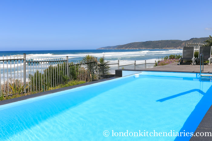 Outdoor Pool at The Ocean View Luxury Guest House South Africa