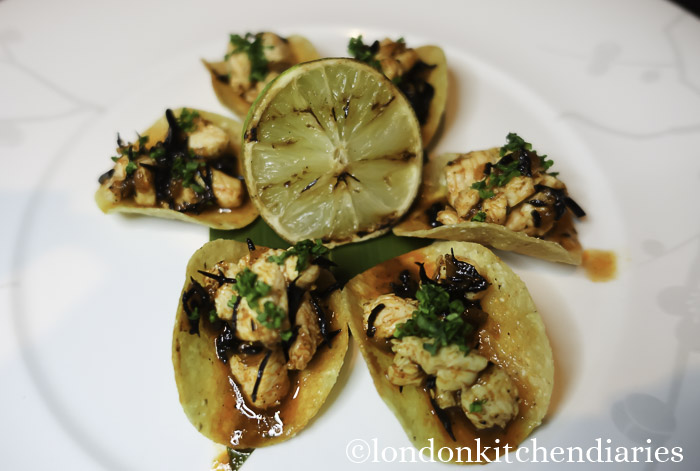 Chicken Tacos Anticucho at Matsuhisa Munich review