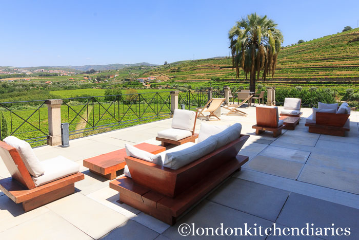 Outside Bar Area at Six Senses Douro Valley