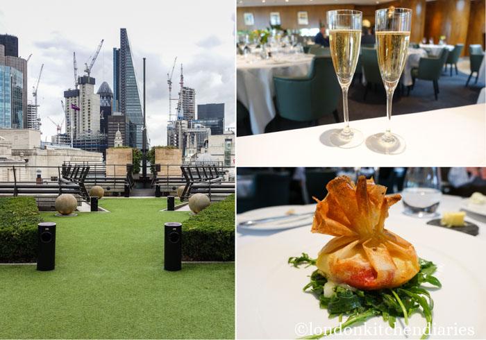Coq d'Argent Restaurant Review London