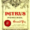 Chateau Petrus label
