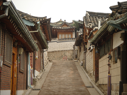 Crossroads in Bukcheon