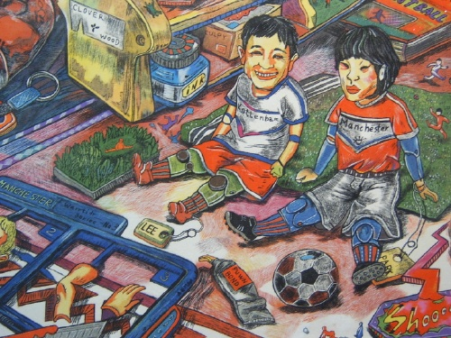 Footballer dolls - Seunghee Kang