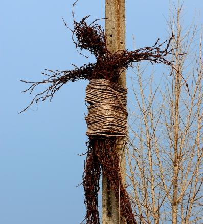 Daechuri Barbed Crucifix. Photo (c) Chris Gelken