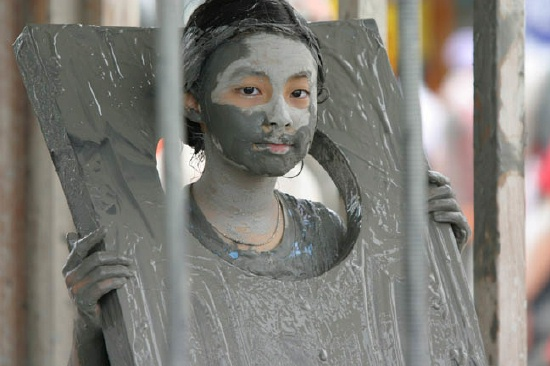 Boryeong Mudfest Jail