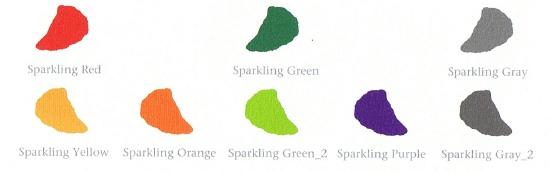 Korea, Sparkling color palette