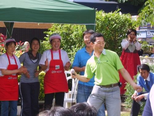 Korean Food Festival - the karaoke