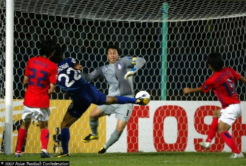 Lee Woon Jae's Miracle save against Japan