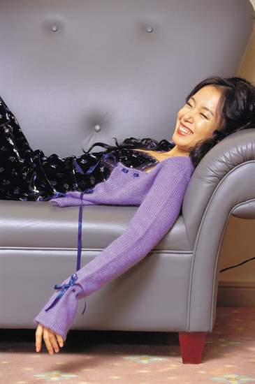 Jeon Do-yeon taking it easy