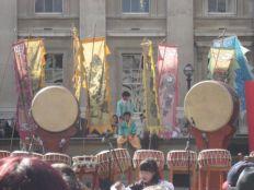 Dulsori outside the British Museum