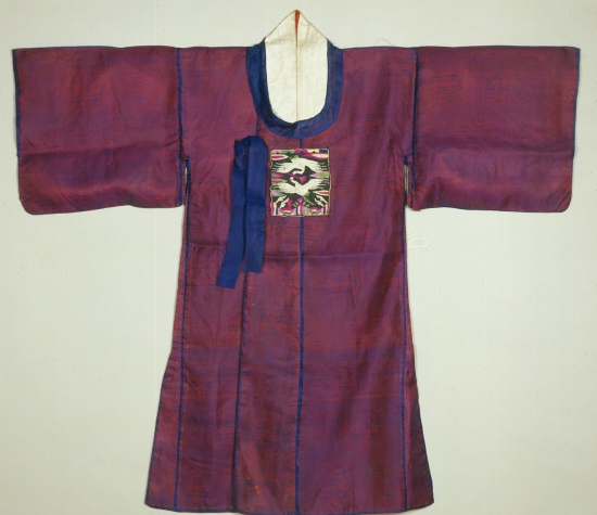 19th century Yangban's robe - from Linda Wrigglesworth