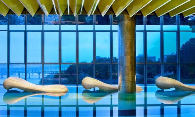 The health club at the W Seoul
