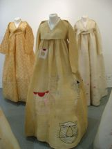 Hanboks by Lee Rhee-za with tiger decoration