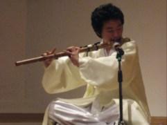 Ko Seung Hwan plays Daegeum