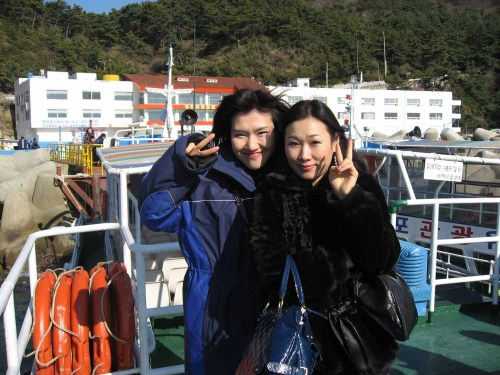 My guides for the day in Busan